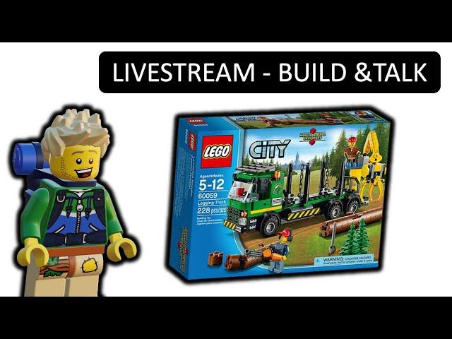 BUILD & TALK LEGO HOLZTRANSPORTER 60059