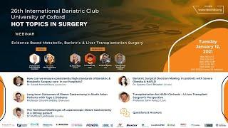Evidence Based Metabolic, Bariatric & Liver Transplantation Surgery