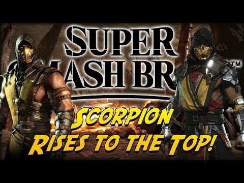 Could Scorpion be Rising to the Top? - Super Smash Bros. Ultimate DLC Twitter Theories! thumbnail
