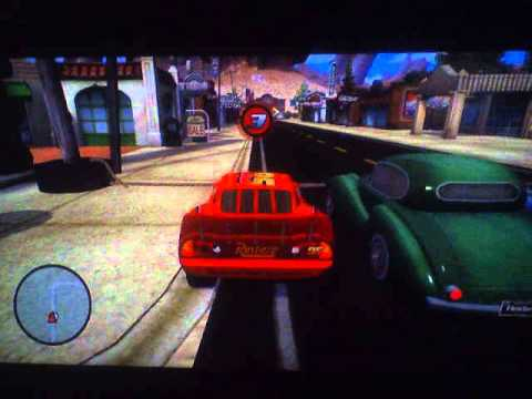 cars the video game part 1 let 39 s go on a free ride youtube. Black Bedroom Furniture Sets. Home Design Ideas