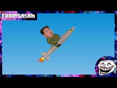 Kim Jong Un Rocket Man Music Video Parody