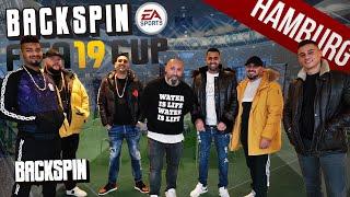 Maxwell, Al-Gear, Milonair, Jasko, Disarstar und Bozza: BACKSPIN FIFA 19 CUP HAMBURG