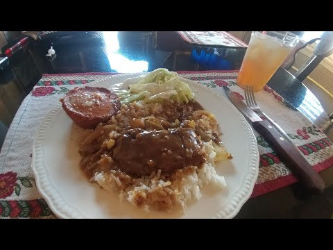 How to make tasty Cube Steak, Gravey & Onions over white Rice
