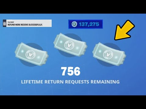How To Get MORE REFUNDS TICKET In Fortnite Chapter 2 Season 2 (EASY FORTNITE REFUND TICKET TUTORIAL)