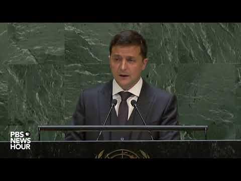WATCH: Ukraine President Volodymyr Zelenskyy's full speech to the UN General Assembly