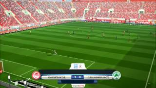 Olympiacos Vs Panathinaikos (Karaiskakis Stadium) [PES 2013] ProGamerZ Ultimate Patch
