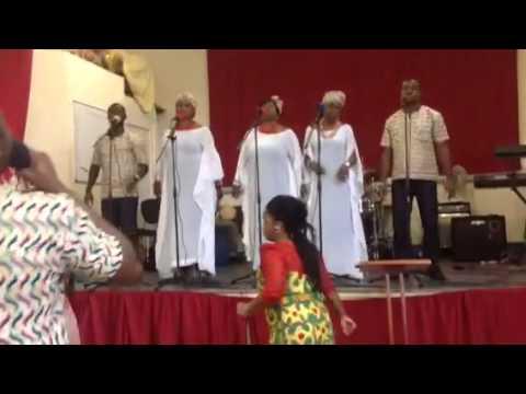 The Angelics singing -Reya Leboga