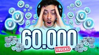 I WENT CRAZY ET BOUGHT 60 000 V-BUCKS! -Fortnite, le