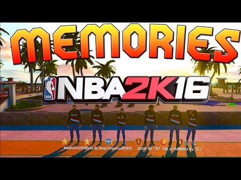 MEMORIES | MON PARCOURS NBA2K16