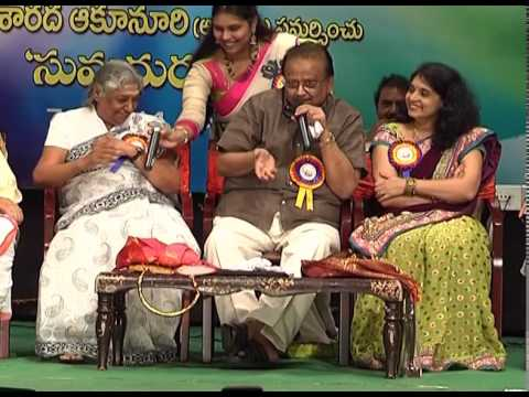 SPEECH &SONGS BY S.JANAKI & S.P
