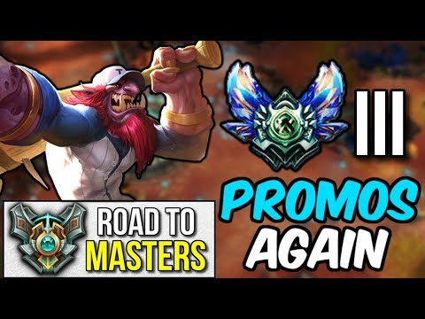 DIAMOND 3 PROMOS... AGAIN! | Road to Masters #8 - League of Legends
