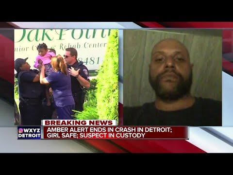 2-year-old Detroit Girl Safe After AMBER Alert; Suspect Arrested After Chase