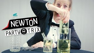 Usynlig glass | Newton PartyTrix | NRK Super