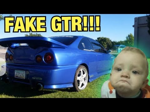 FAKE Skyline Made Out Of A CIVIC!!! (Ricer Cars On Craigslist)