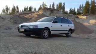 Toyota Carina E 2.0D XL 1996 (In Depth Tour, Start Up, Engine, Test Drive)