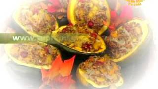 Compassionate Cooks Create A Harvest Stuffed Acorn Squash