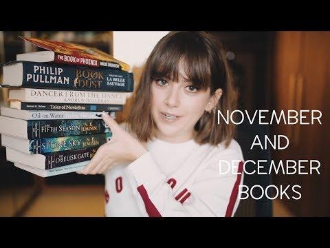 NOVEMBER AND DECEMBER BOOKS | sunbeamsjess