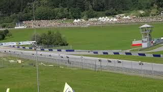 Moto GP Spielberg 2018 Rossi Tribüne Erste Runde