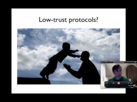 Intro to low-trust protocols and Bitcoin's ability to facilitate autonomous agents [Nov 2013]