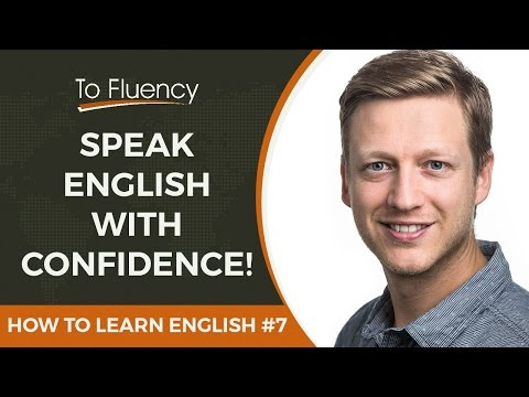 Speak English Confidently - Lesson 7 (How to Learn English)