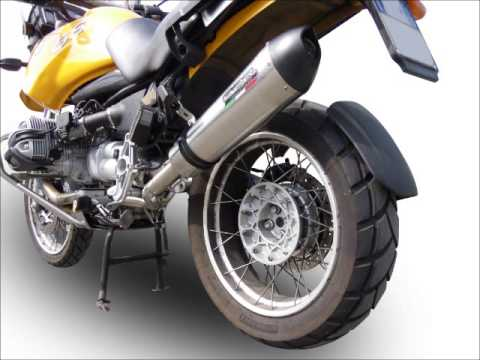BMW R 1150 GS   R 1150 R SCARICO GPR EXHAUST SYSTEM VIDEO CATALOGUE