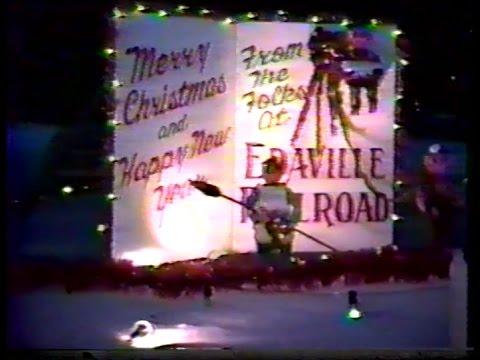 Christmas Festival of Lights at Edaville Railroad, December 19, 1988