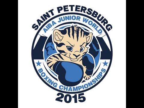 AIBA JUNIOR WORLD BOXING CHAMPIONSHIPS St-Petersburg Semi-Finals Session 1