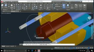 Flanged Coupling 3D Malayalam video tutorial - CADD Lessons