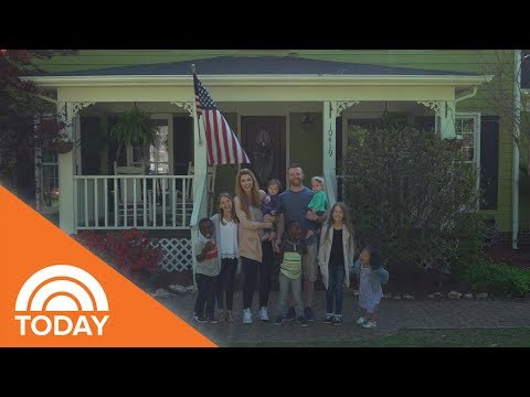 The Braniff Family: They're A Family Of Nine, And They're Doing Fine | TODAY