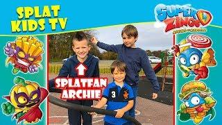 Superzings Series 2 Battle with Splat Fan Archie!