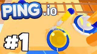 UNBEATABLE START WORLD RECORD?! - New .io Game! - PING.IO Gameplay Walkthrough Part 1
