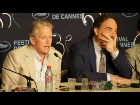 Michael Douglas - Wall Street - Cannes Festival