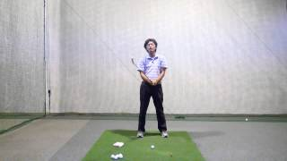 ホントは教えたくないハンドファースト練習法【ゴルフライブ】 thumbnail