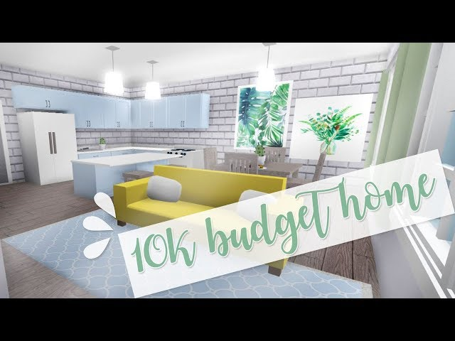 ROBLOX | Welcome to Bloxburg: 10k Budget Home