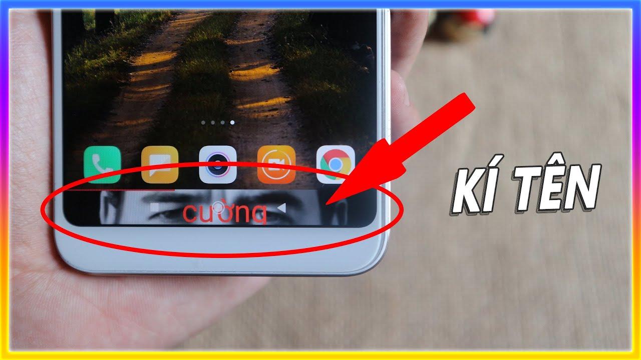 Cài hình nền và kí tên vào thanh điều hướng điện thoại android | Mê thủ thuật