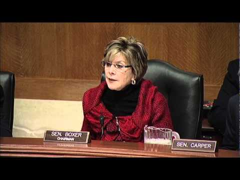 Boxer Opening Statement at EPW hearing on NRC recommendations for reactor safety (December 15, 2011)