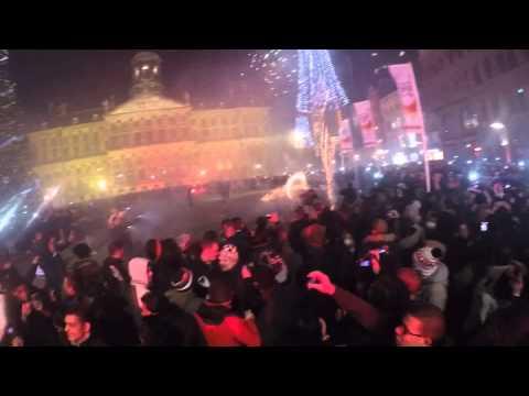 NEW YEARS EVE AMSTERDAM, DAM SQUARE 12.00