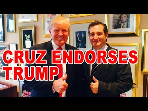 Ted Cruz Endorsement Of Trump & Internet Custody Threat