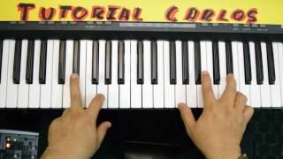 Somos libres En espiritu y en Verdad - Tutorial Piano Carlos