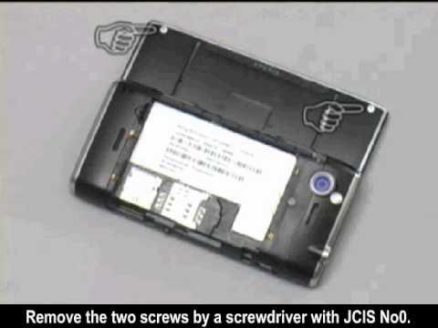 Sony Ericsson Xperia X2 - Disassembly , Sökülmesi , Demontage