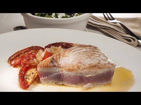 Receta de Atún con tomates asados de Bruno Oteiza
