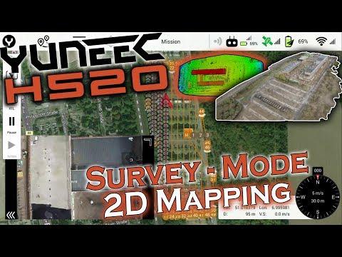 Yuneec H520 - Survey Mode - DataPilot Mapping (german   deutsch)