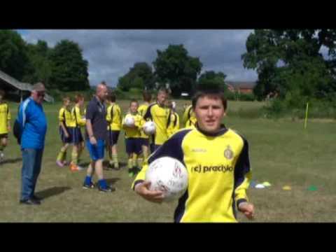 Borras Park Albion U13's Crossbar Challenge