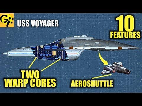 USS Voyager: 10 Little Known Features (Star Trek)