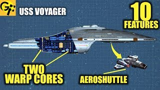 USS Voyager: 10 Little Known Features (Star Trek)