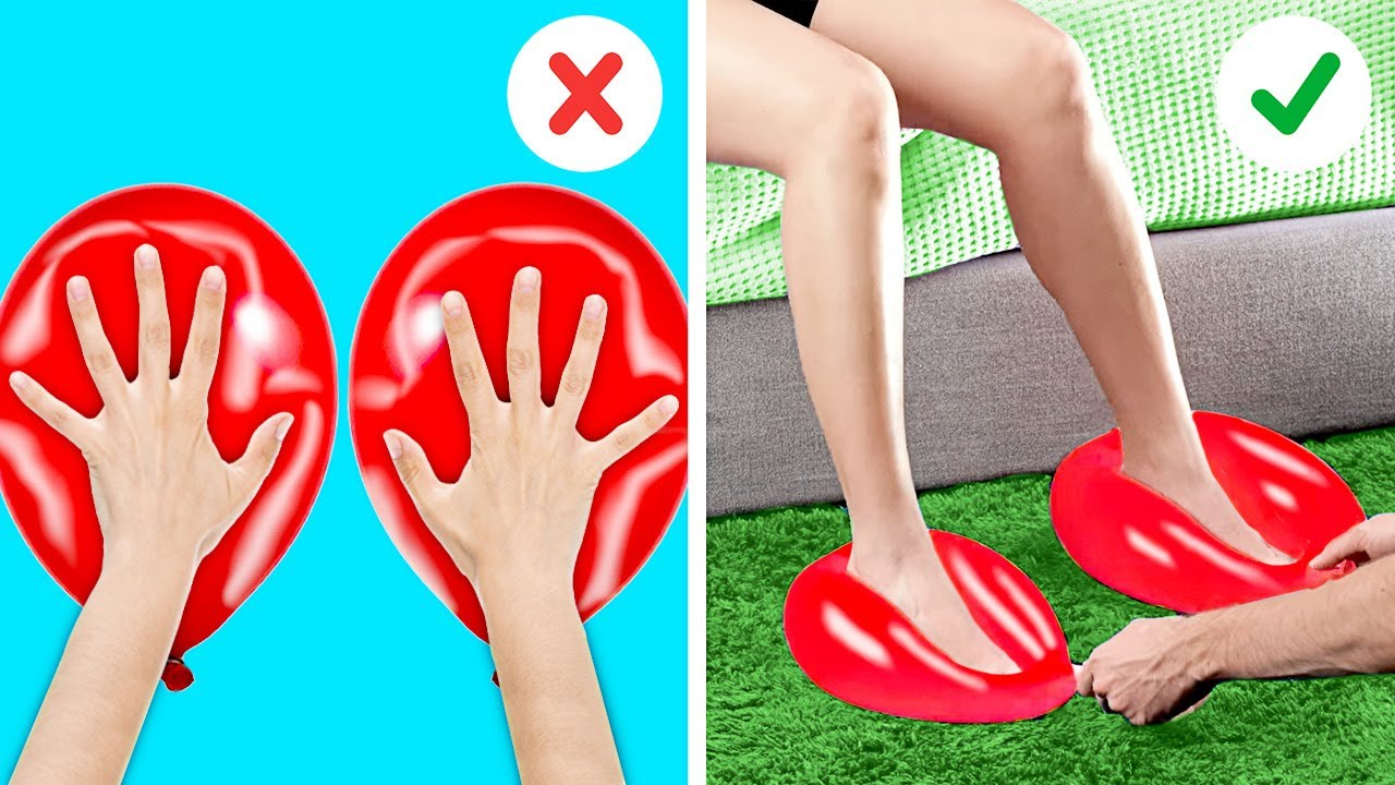 Cool Balloon Tricks To Have Fun With Your Friends    Balloon Hacks, Water Tricks, Funny Tricks