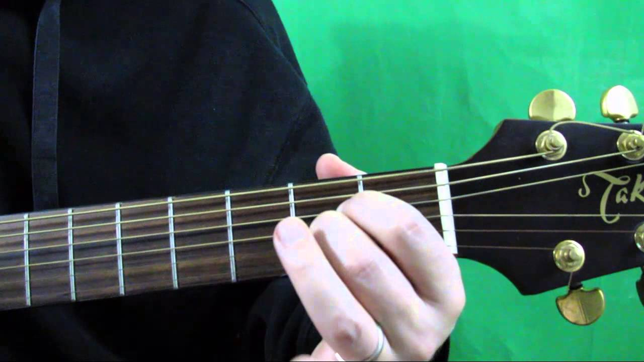 How To Play The A Major Chord On Guitar A Major Guitar Chord