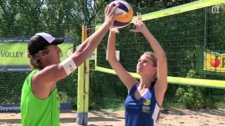 Beachvolleyball mit Profi Daniel Hupfer