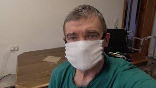 коронавирус маска своими руками без шитья