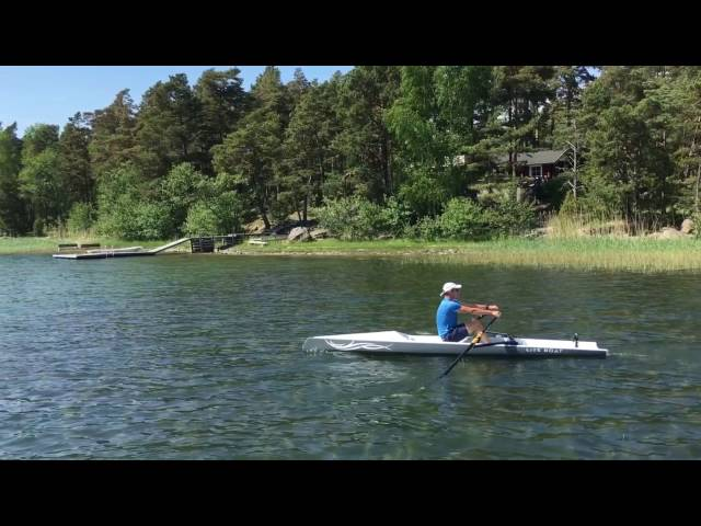 Nature rowing in Finland
